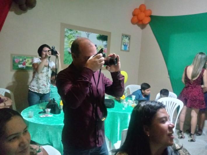Fotografando e sendo fotografado. Grande Edmar Vieira.