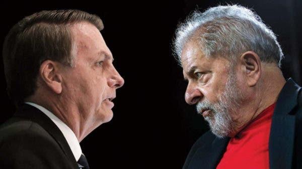 Bolsonaro 32% e Lula 52%. Um fato que a grande mídia nega
